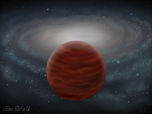 ancient brown dwarf