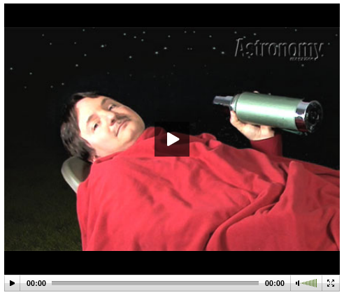 How to observe meteor showers