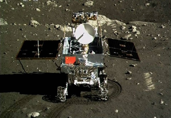 China's Yutu lunar rover