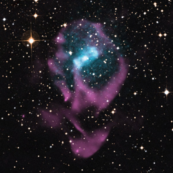 Youngest member of a class of objects known as X-ray binaries