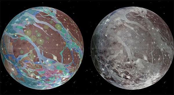 A global image mosaic of Ganymede