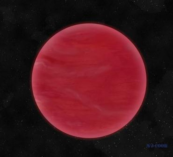 Red brown dwarf