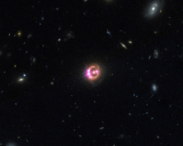 distant quasar known as RX J1131-1231