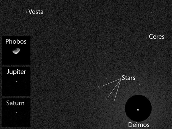 asteroids Ceres and Vesta