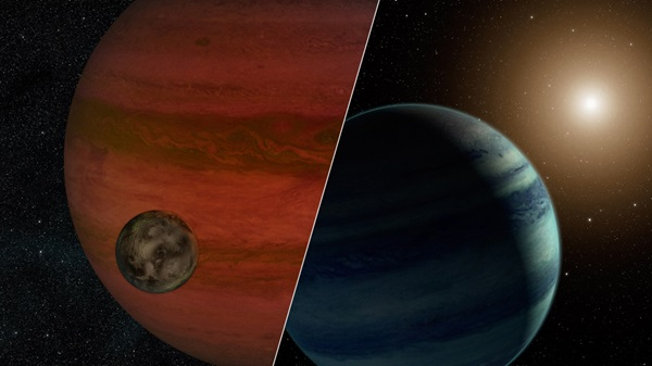 "first ""exomoon"" candidate detected — a moon orbiting a planet that lies outside our solar system"