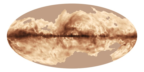 Milky Way magnetic fingerprint