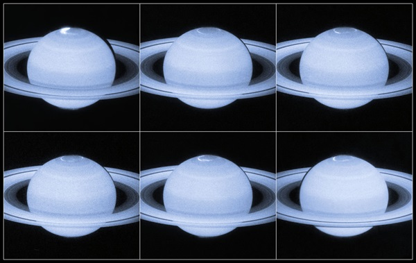 Saturn's auroral lights