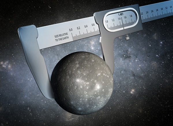 Measurement of an alien world