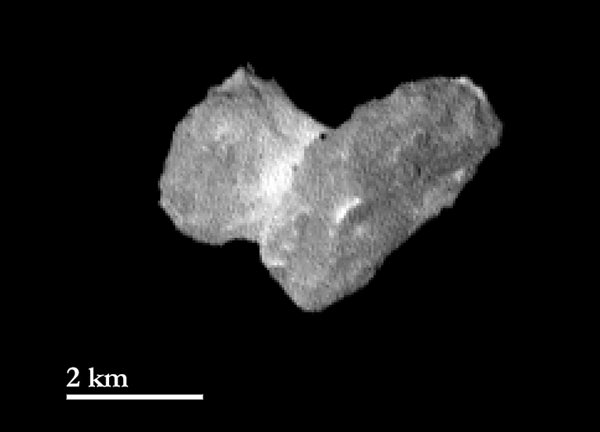 Comet 67P/Churyumov-Gerasimenko on July 29