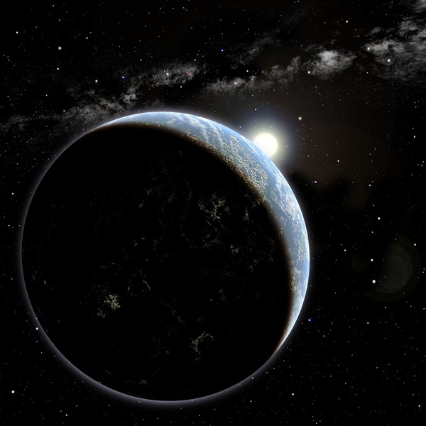 Exoplanet orbiting Sun-like star
