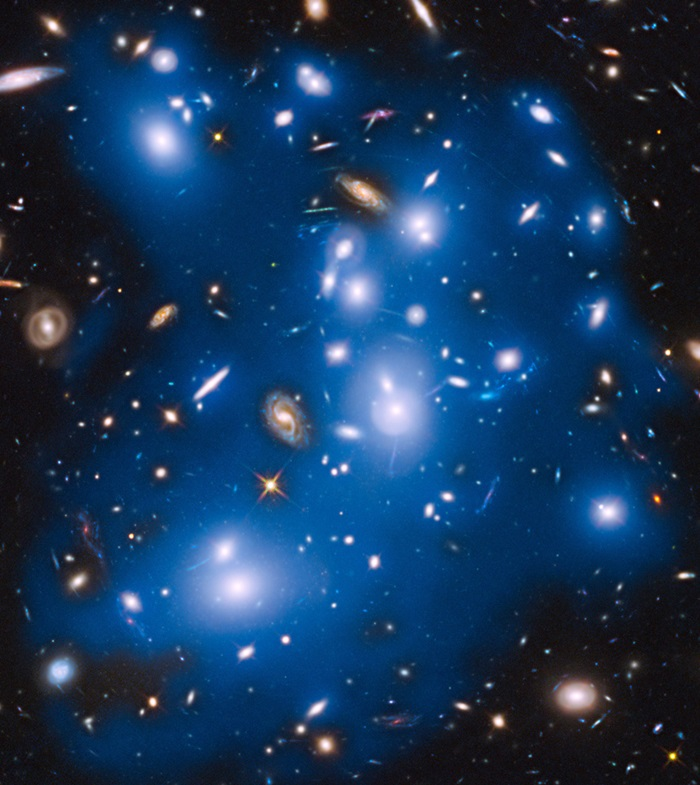 Galaxy cluster Abell 2744, nicknamed Pandora's Cluster
