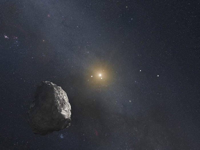 Kuiper Belt object illustration