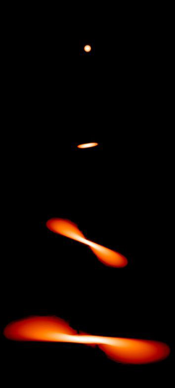 planets being stretched into a black hole - photo #17