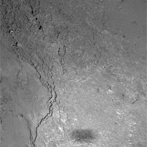 Imhotep region on comet 67P