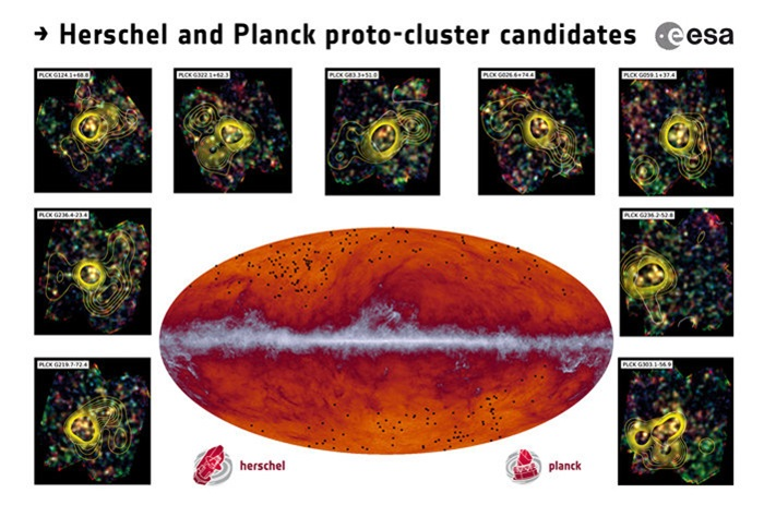 Protocluster candidates