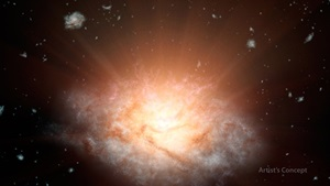 most luminous galaxy