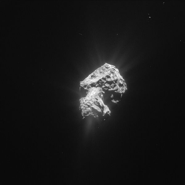 Comet 67P/Churyumov-Gerasimenko on May 20, 2015