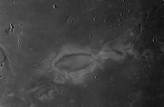 Reiner Gamma on the Moon's near side.
