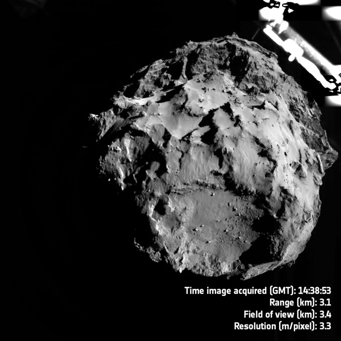 Descending to Comet 67P