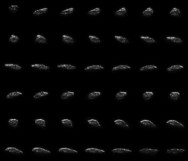 Asteroid 2015 HM10 collage