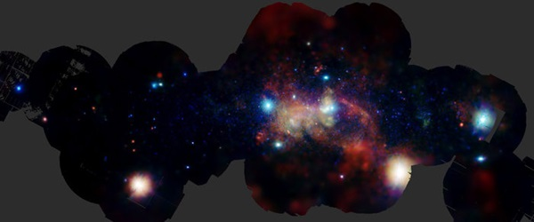The galactic center heavy elements