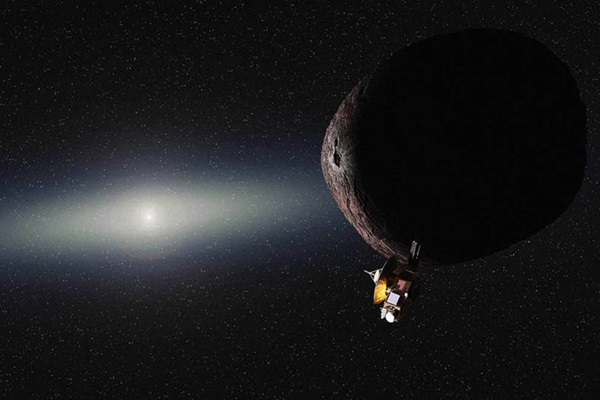 New Horizons flyby