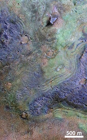 Nili Fossae region on Mars