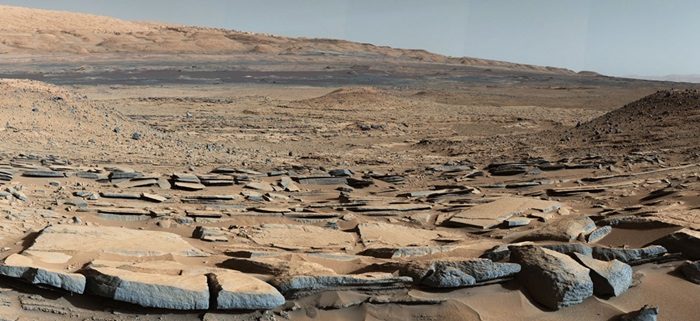 Kimberley formation on Mars