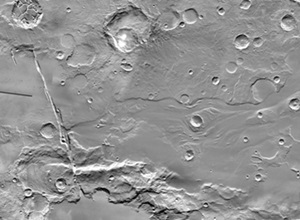 Mars' Mangala Fossae and Valles