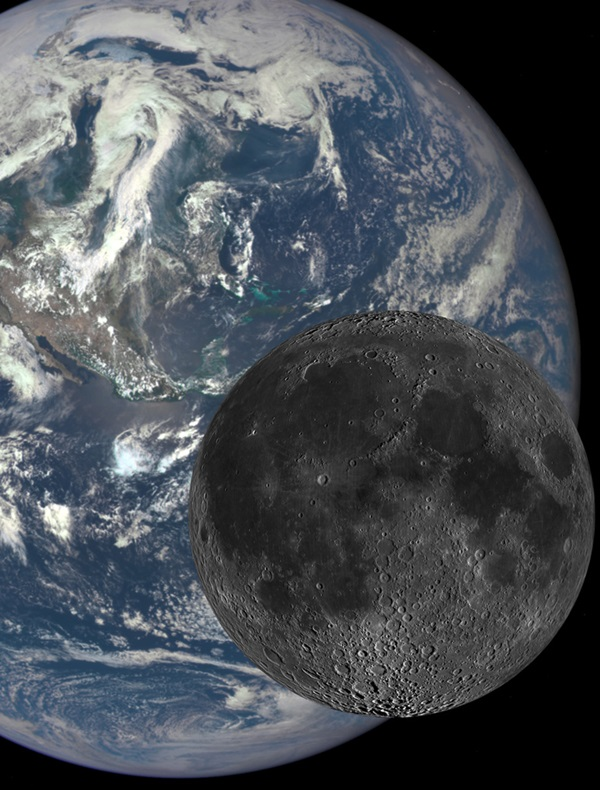 The Earth and our Moon