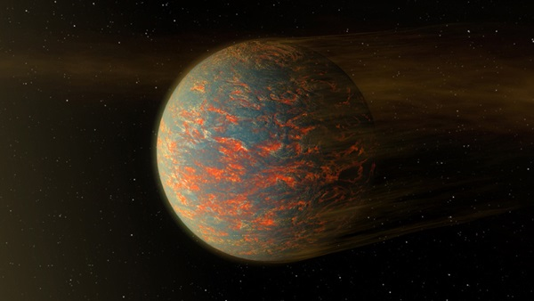 Illustration of 55 Cancri e