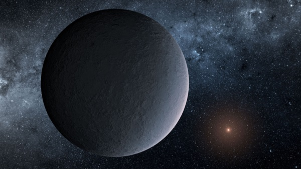 A Chance Event Reveals a Frigid Oddball Planet
