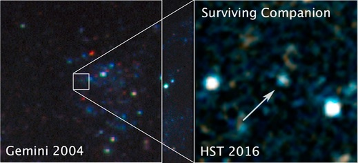 Hubble captures first image of surviving companion to a supernova