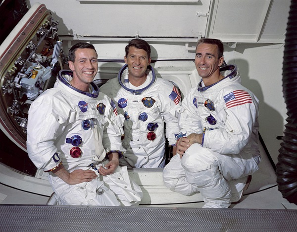 Apollo 7 Nasa S First Mini Mutiny In Space Astronomy Com