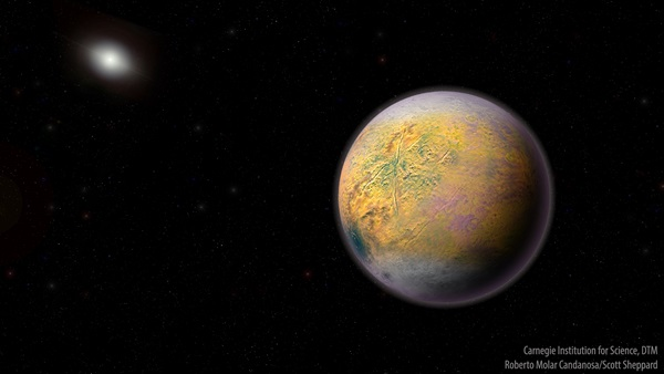 Introducing 'The Goblin': A new, distant dwarf planet bolsters