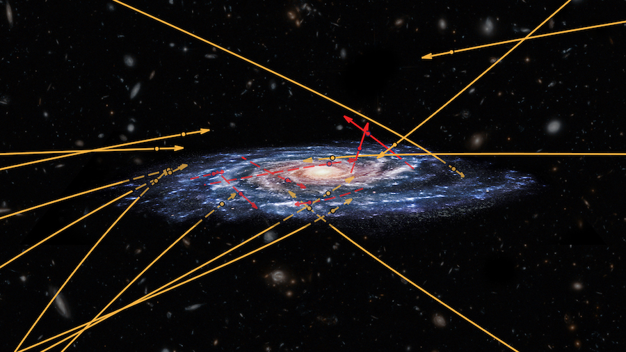 Extragalactic stars found zipping through the Milky Way ...