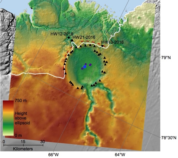 Impact crater beneath Greenland could help explain Ice Age ...