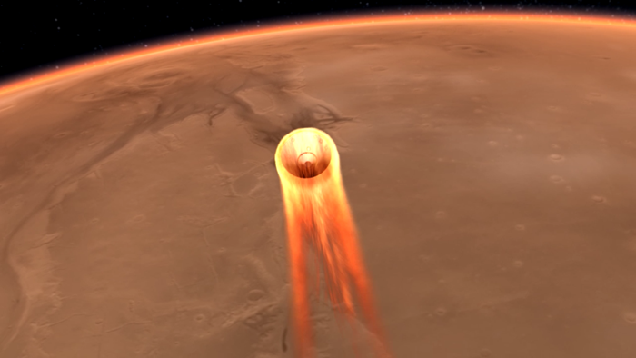 mars landing today what time - photo #12