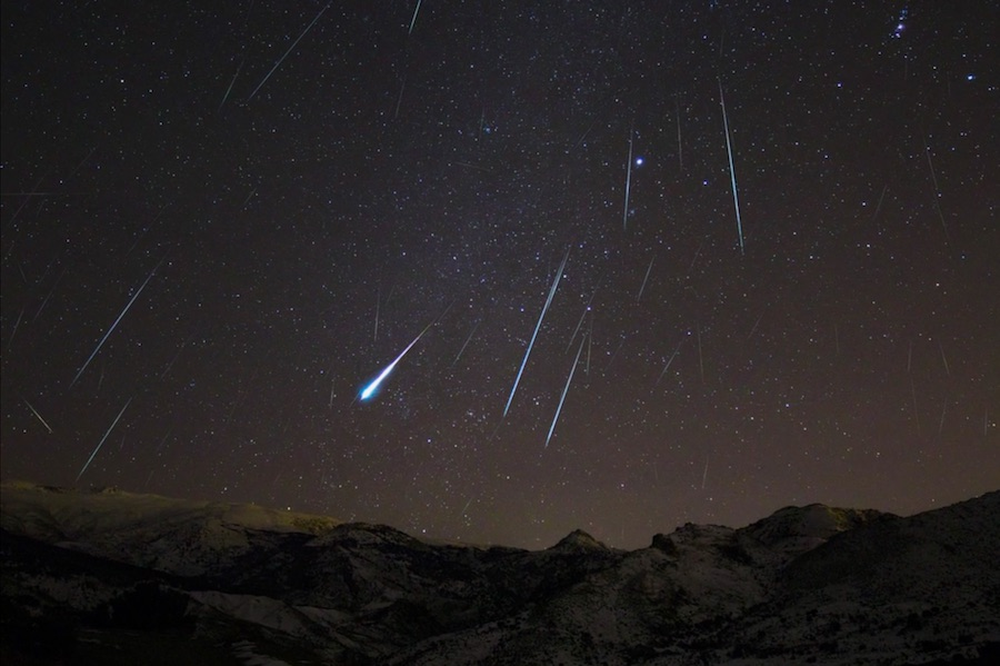 Google marks Geminid meteor shower with a series of doodles