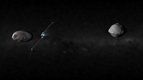 NASA's DART mission will try to deflect a near-Earth asteroid