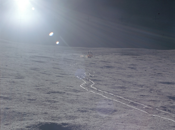 Apollo's astronauts captured images that remain icons of the