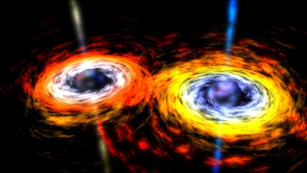 Are these supermassive black holes on a collision course