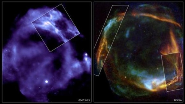 Exploding star viewed in 3D - BBC News