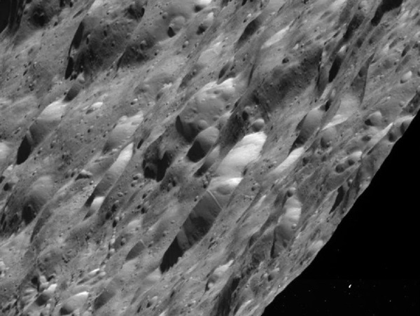 Craters-on-Rhea