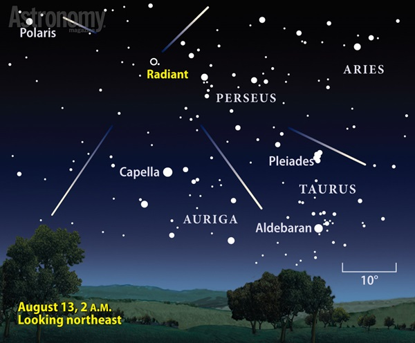 This year's best meteor shower coincides with New Moon.