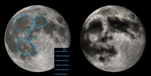 tonight s full moon offers prime view of man in the moon