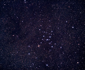 Ptolemy's Cluster (M7) lies near the stinger of the constellation Scorpius the Scorpion.