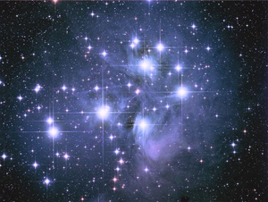 The Pleiades (M45) is also known as the Seven Sisters