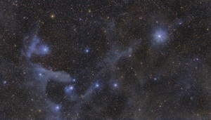 Reflection nebula van den Bergh 99 is a faint deep-sky object in the constellation Scorpius.