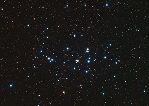 The open star cluster most observers call the Beehive (M44) lies within the boundaries of the constellation Cancer the Crab.